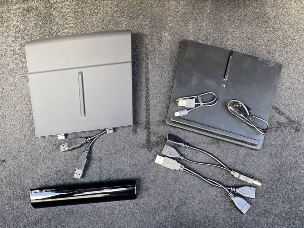 OEM Tesla and TapTes wireless chargers unboxed